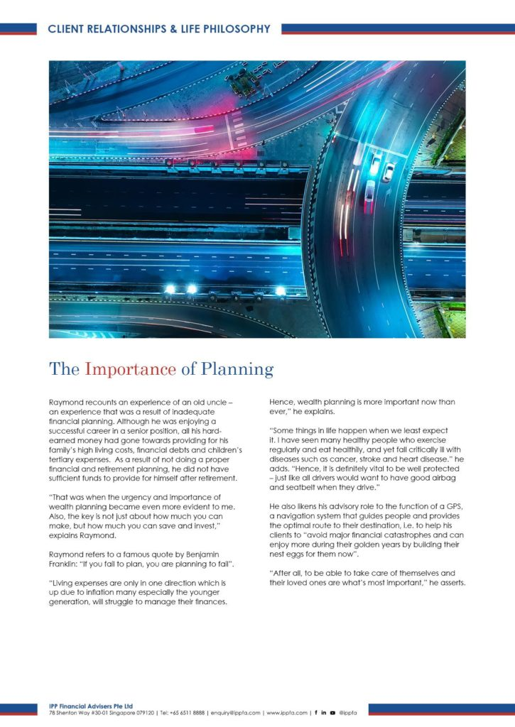 Finding Fulfillment through Planning for Lifetime Success Page 3